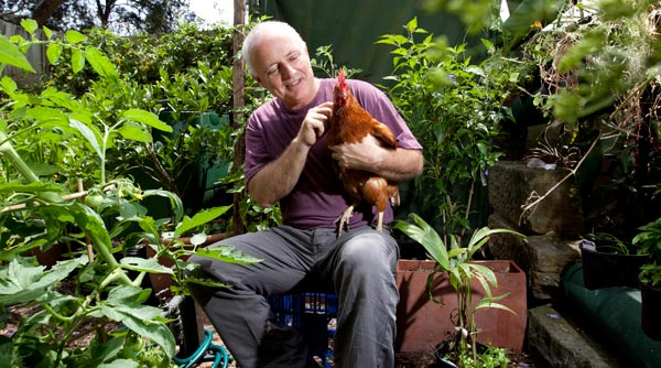 Michael Mobbs, city dweller, city farmer.