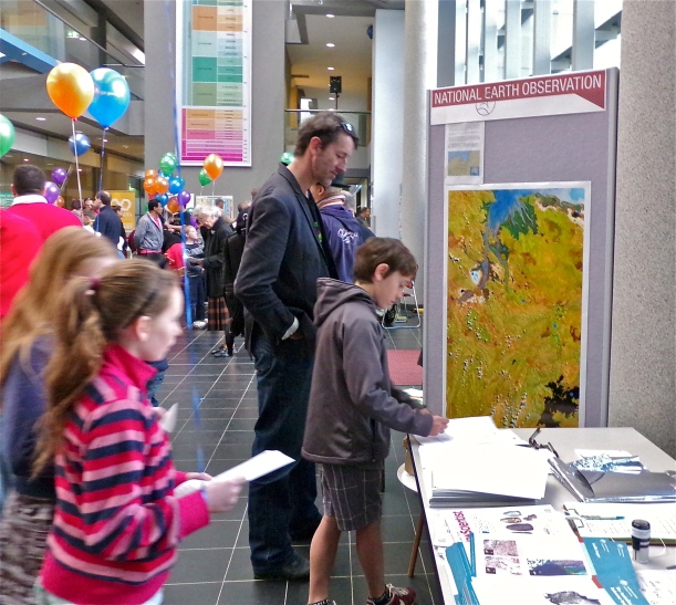 Geoscience Australia opened its doors to the public and it was a great success