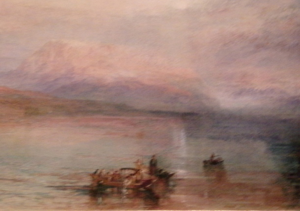 An exquisite Turner watercolour.